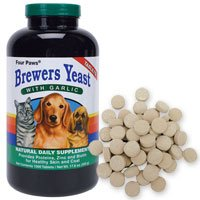 Brewers Yeast Tablets with Garlic, 1000-Count