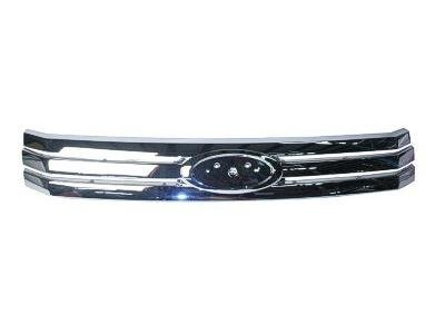 GRILLE Ford Fusion CHROME; . (WITHOUT MFR MANUFACTURER EMBLEMS / LOGOS. THEY ARE TRADEMARK PROTECTED.) (2009 Ford Fusion Emblem compare prices)