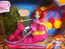 Exclusive Winx Club Scooter with Doll