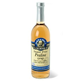 Da Vinci SUGAR FREE Praline Syrup 750mL with Splenda
