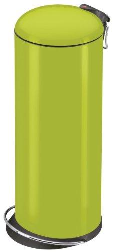 Hailo 0523-139 Poubelle à Pédale Trento Top Design 26 Lemon