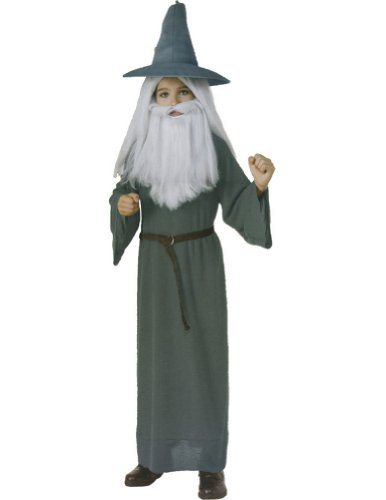 boys - Gandalf Child Costume Md Halloween Costume - Child Medium