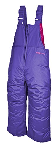 Arctix Toddler Classic Overalls Snow Bib, 4T, Purple back-117272