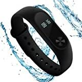 Fitness Tracker Original Xiaomi Mi Band 2 with Heart Rate Monitor and OLED Display for Women, Kids and Men, Waterproof Watch with Pedometer, Xiaomi MiBand 2 Wireless Bluetooth 4.0 Wristband.