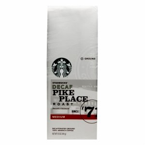 Starbucks Decaf Pike Place Roast, Ground, 12 Oz. Bag