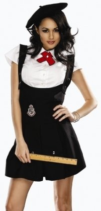 Delicious Sexy Adult French Schoolgirl Outfit