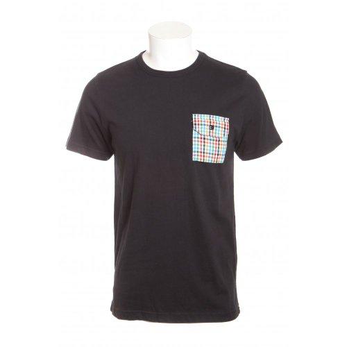 Penfield mens southbridge short sleeve crew neck pocket t-shirt in vintage black XXL