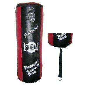 Punch Bag 'HERITAGE' Gym MAX BLAST- Shihan Leather Black/Red [Misc.]
