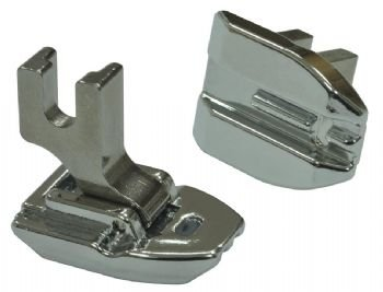 Concealed Invisible Zipper Sewing Machine Presser Foot - Fits All Low Shank Snap-on Singer*, Brother, Babylock, Viking (Husky Series), Euro-pro, Janome, Kenmore, White, Bernina (Bernette Series), New Home, Simplicity, Elna and More! (Necchi Sewing Machine Zipper Foot compare prices)