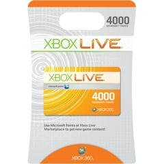 Microsoft Xbox LIVE 4000 Points