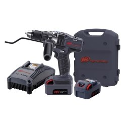 "Ingersoll Rand (Irtd5140-K2) Iqv20 1/2"" Drive Cordless Drill Kit With 2 Batteries"