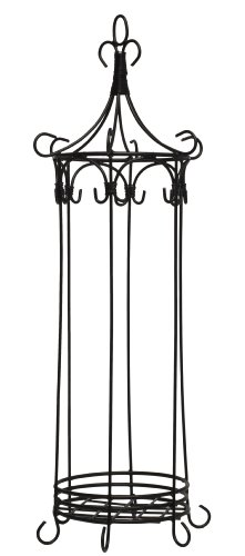 HomArt Wire Fairy House, Large, Black Finish