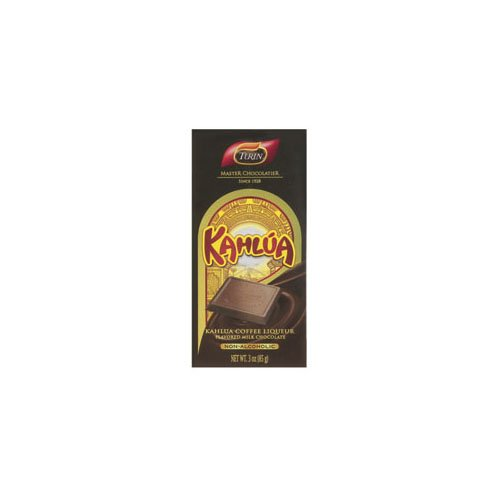 Description Details of Turin Chocolates Kahlua Flavored Milk Choc Bar