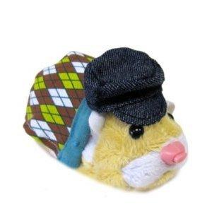 Imagen de Zhu Zhu Pets Hamster Serie 2 Traje de Argyle Sweater Hat hámster no incluido!