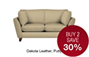 Barletta Small Sofa - Leather