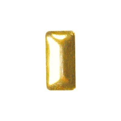 shu shu ピアドラ スタッズ レクタングル 2.5×5mm ゴールド 10p