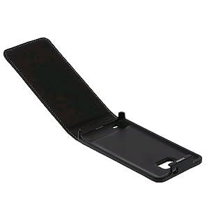 Samsung Executive - Funda de cuero para Galaxy S 2, color negro