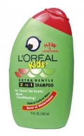 Best L'Oreal Paris Kids 2-in-1 Shampoo for Thick,Curly or Wavy Hair, Watermelon, 9-Fluid Ounce Reviews