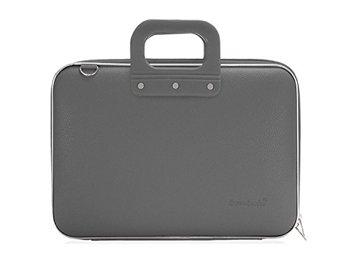 bombata-medio-briefcase-13-inch-charcoal