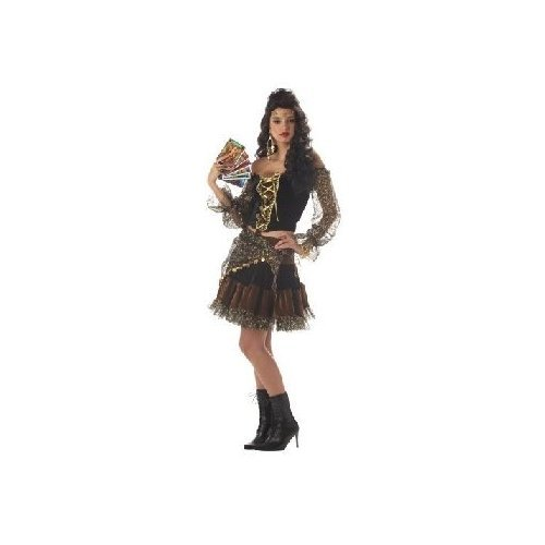 Women Med (8-10) - Madame Destiny Costume (Boots Not Included) front-627659