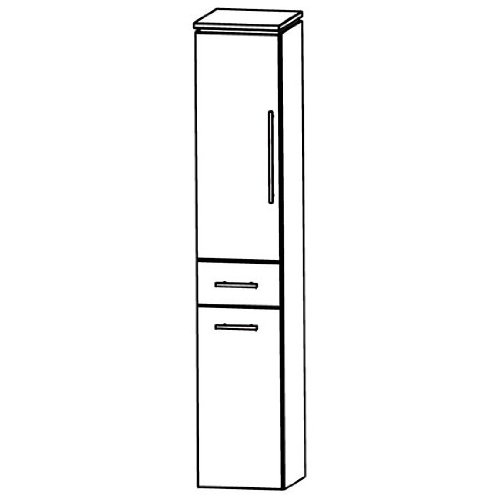 In Line (HNA053 A5WL/R) Bathroom Furniture Tall 30 cm