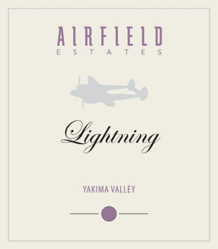 "2012 Airfield Estates ""Lightning"" Yakima Valley Rhone Style White Blend 750 Ml"