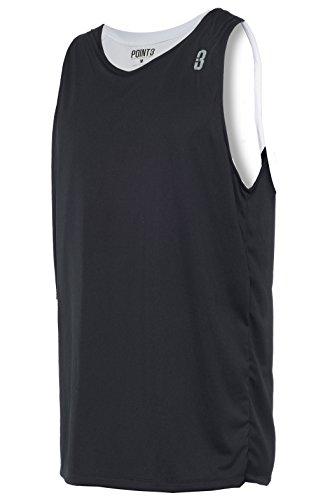 POINT 3 Reversible Unisex Basketball Jersey