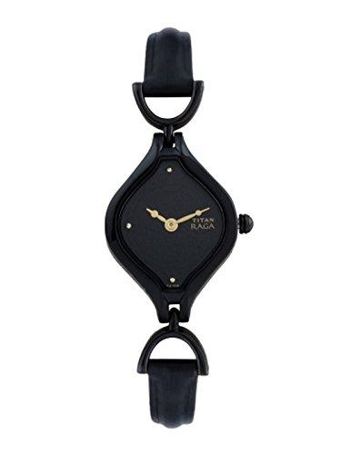 Titan Raga Black Dial Analog Women's Watch – 2531nl01