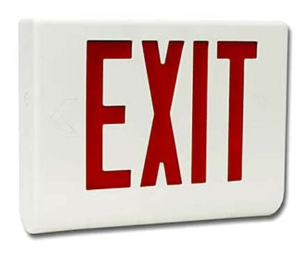 Exit Sign Hidden Full Color Wired Camera