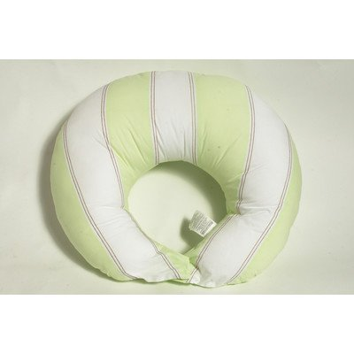 Metro Lime/White/Chocolate  Nursing Pillow Cover only