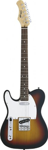"Stagg T320Lh-Sb Standard Left Handed ""T"" Style Electric Guitar - Sunburst"
