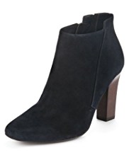 Autograph Suede Wide Fit Water Resistant Ankle Boots with Insolia®