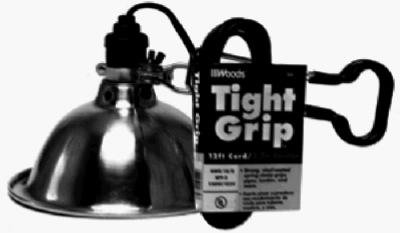 Images for Woods 2839 18/2-Gauge SPT-2 Tight Grip Clamp Lamp with Reflector, 150-Watt, 8.5-Inch, 12-Foot