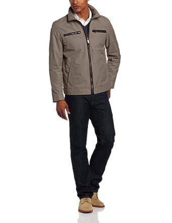 Perry Ellis Men's Dobby Tech With Trim at Amazon Men's Clothing