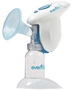 Evenflo Company SimplyGo Single Breast Pump, 5 oz Bottle