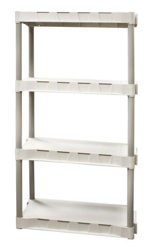 Plano Molding 9314-02 4-Shelf Interlocking Utility Shelving