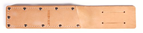 Mercer Culinary M23841 Leather Sheath for M23840 Produce Knife, Stainless Steel, Brown (Chef Knife Belt Sheath compare prices)