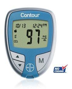 Bayer Contour Blood Glucose Meter