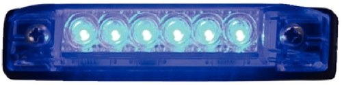 Th Marine Led-51806-Dp Slim Line Strip Light, 6-Inch, Blue
