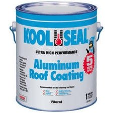 kst coating kool seal 20 496 1 aluminum roof coating automotive. Black Bedroom Furniture Sets. Home Design Ideas