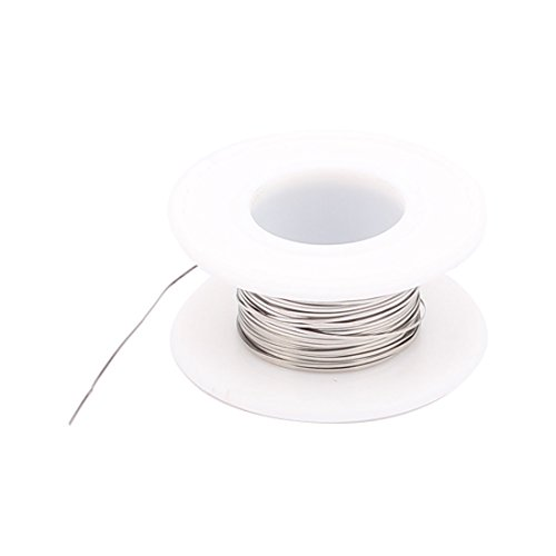 uxcell 10M 33Ft 0.1x0.5mm Nichrome Flat Heater Wire for Heating Elements (Flat Heating Element compare prices)