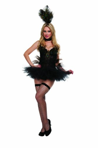 Starline Women's 4 Piece Exotic Peacock Costume