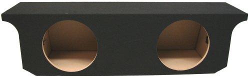 "Asc Jeep Wrangler Jk 4 Door Unlimited Dual 12"" Subwoofer Custom Fit Speaker Box Enclosure"