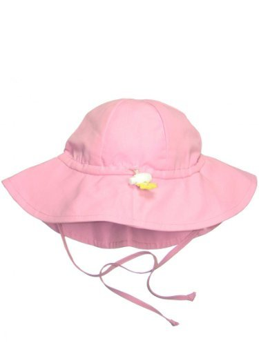Iplay Baby Infant Toddler Unisex UPF 50 Solid Brim Sun Hat / Beach Hat by Iplay (Light Pink, 2T-4T) (Solid Brim Sun Protection Hat compare prices)