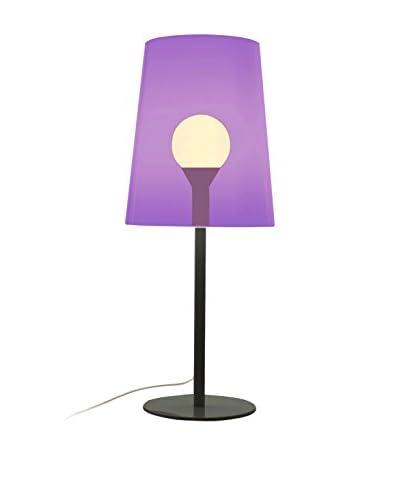 Pedrali Lampada Da Tavolo L001Taa Viola/Nero