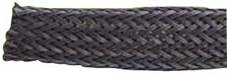 Alpha Wire - G1601/4 Bk007 - Sleeving, Expandable Braided, 6.35Mm, Blk, 50Ft