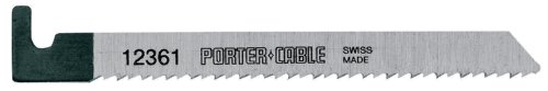 PORTER-CABLE 12361-5 4-1/4-Inch 10 TPI Wood Cutting Hook-Shank Bayonet Saw Blade (5-Pack)