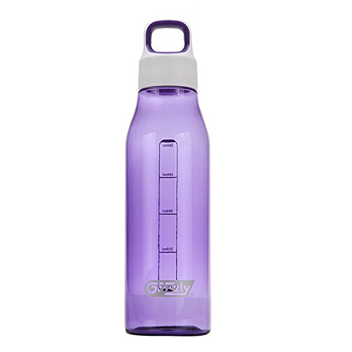 Casual Fashion Portable 550ml Grizzly Diamond series Fashion Bottle - Round cup, Pansy