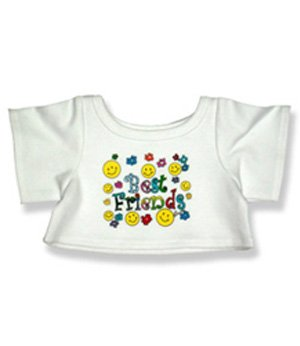 "Best Friends T-Shirt - 6027 Fits 15"" - 16"" bears, includes Build a Bear, The Bear Mill, and Stuff your own Animals."
