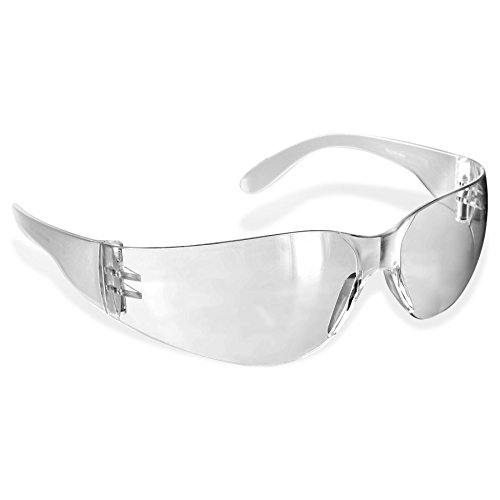 Rugged Blue SC-260 Polycarbonate Diablo Safety Glasses, Clear (Cool Safety Glasses Z87 compare prices)